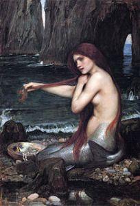 A Mermaid, by John William Waterhouse (1901)