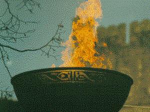 Brigid's Fire at Kildare Abbey