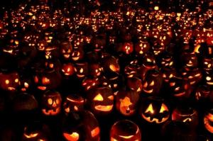 Jack o' Lanterns Galore (photo from Season of Shadows)