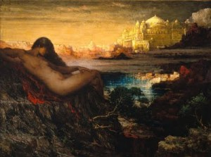 The Genius of the Canyon [Elliot Daingerfield, 1859–1932]