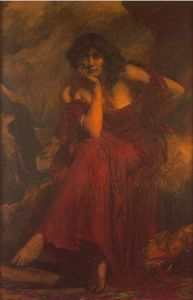 Ceridwen (1910) by Christopher Williams (1873 – 1934). Image from WikiCommons.