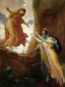 The Return of Persephone, by Frederic, Lord Leighton (1891)