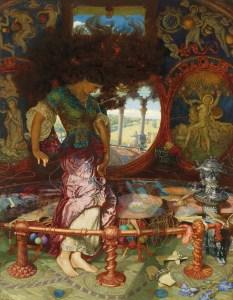 The Lady of Shalott (1886-1905) by William Holman Hunt (Image courtesy of WikiCommons)