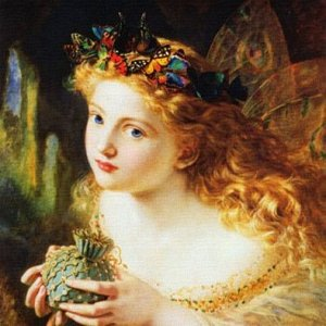 The Fair Face of Woman, by Sophia Gengembre Anderson (1823-1903)