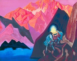 Chinatamani - Treasure of the World, 1936, by Nicholas Roerich (See Roerich Museum, NYC)