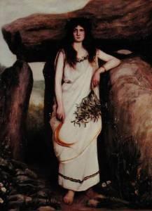 The Druidess, by Armand Laroche (1826-1903)