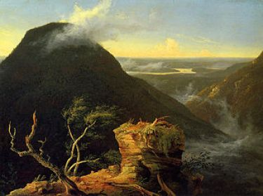 Sunny Morning on the Hudson River, 1827, Thomas Cole. Public Domain via Wikimedia.