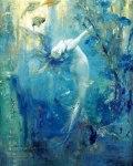 Sirene, by Gaston Hoffman (1883-1926). Public domain image {US-PD}.