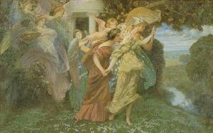 The Marriage of Persephone, by Henry Siddons Mowbray. PD-US.