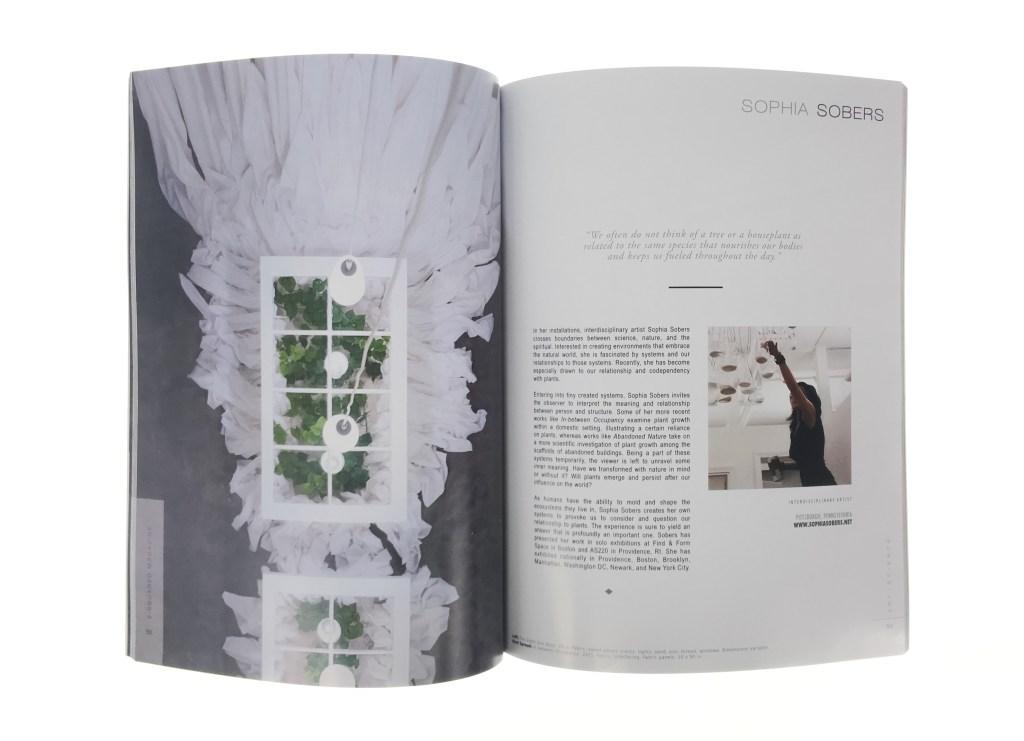 Sophia Sobers in E-Squared Magazine