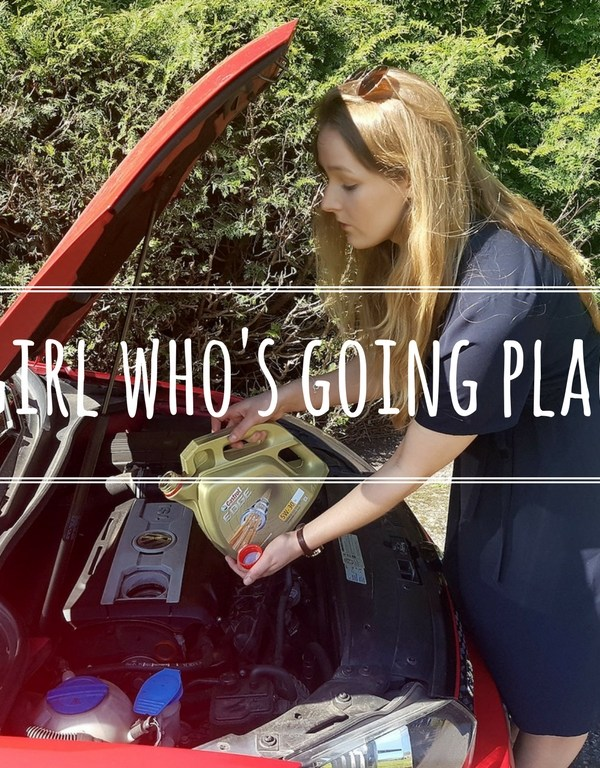 A Girl who's going places – How I care for my car