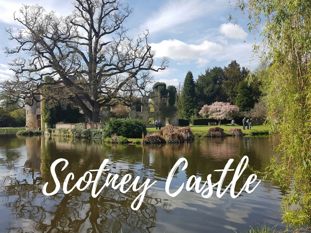 The Romantic Embrace of Scotney Castle