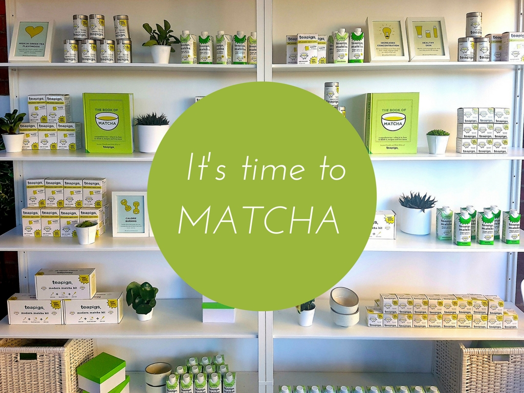 Find your Matcha - with Teapigs at Harvey Nichols