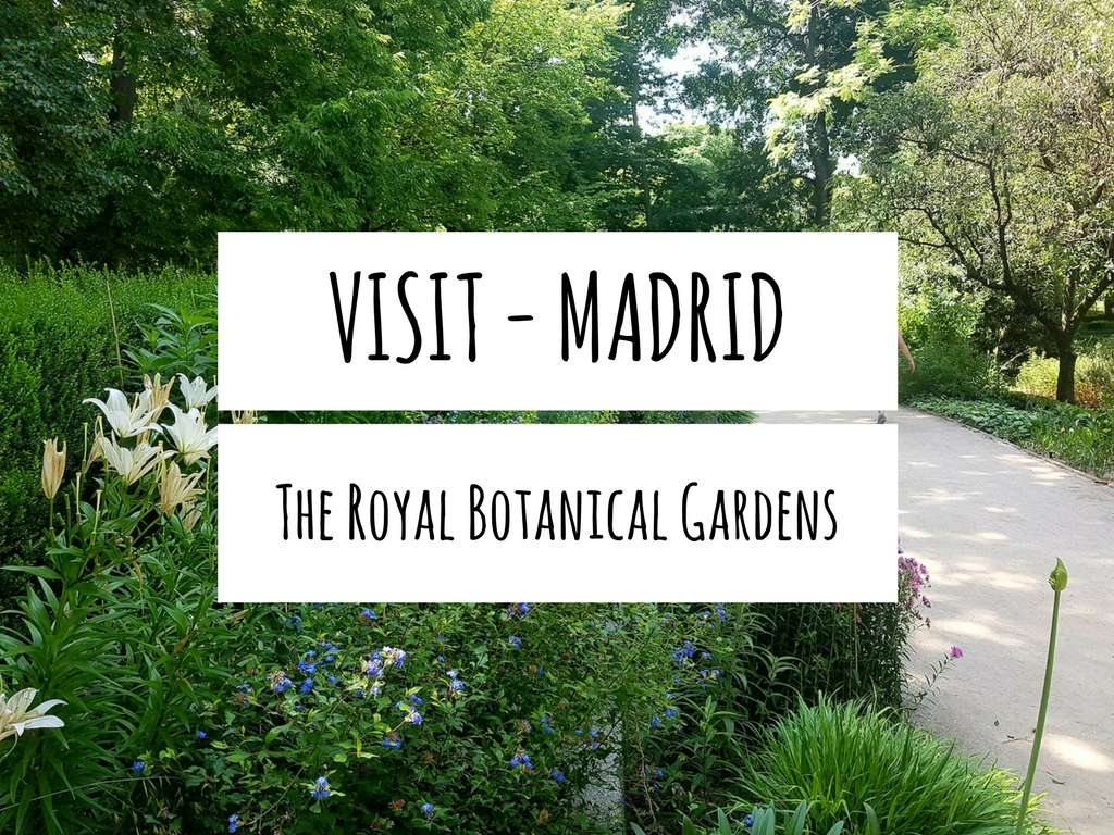 Visit Madrid - The Royal Botanical Gardens
