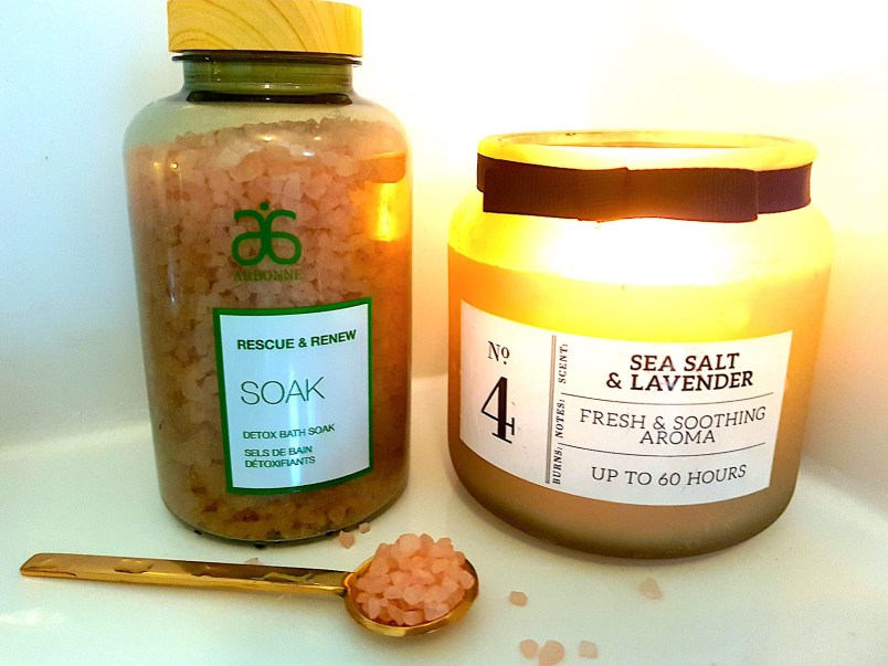 Arbonne Bath Soak Detox and Renew