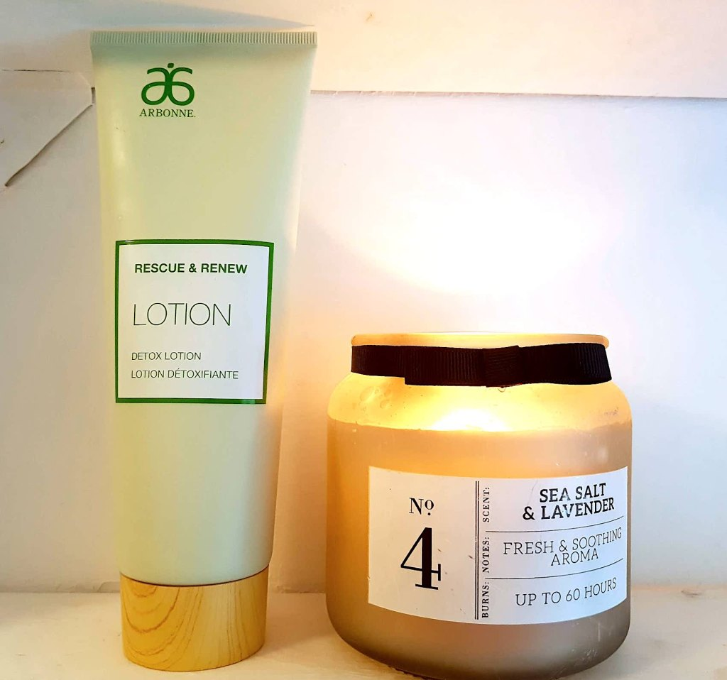 Arbonne Detox and Renew body lotion