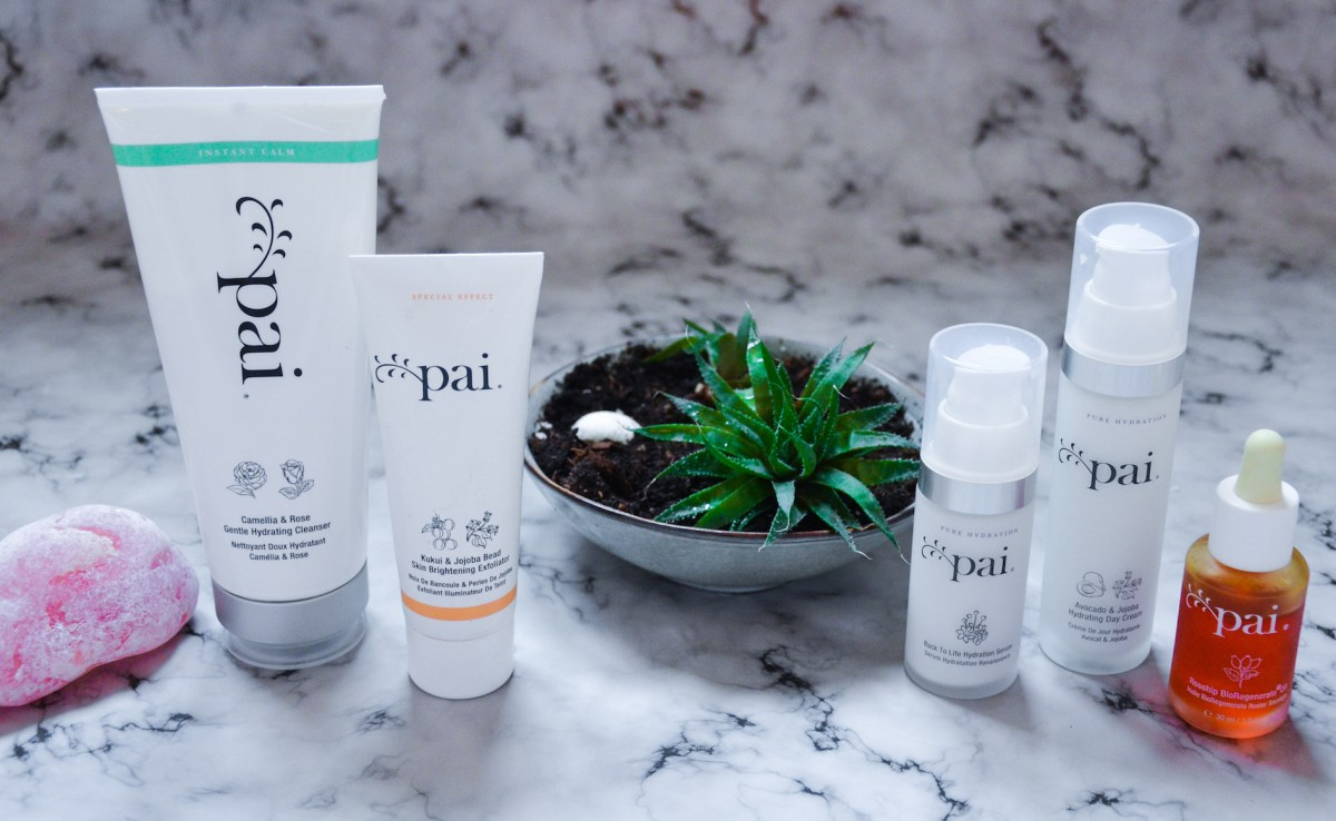 My updated skincare routine - cruelty free - Pai