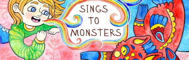 Sophichkin Sings to Monsters on Amazon!