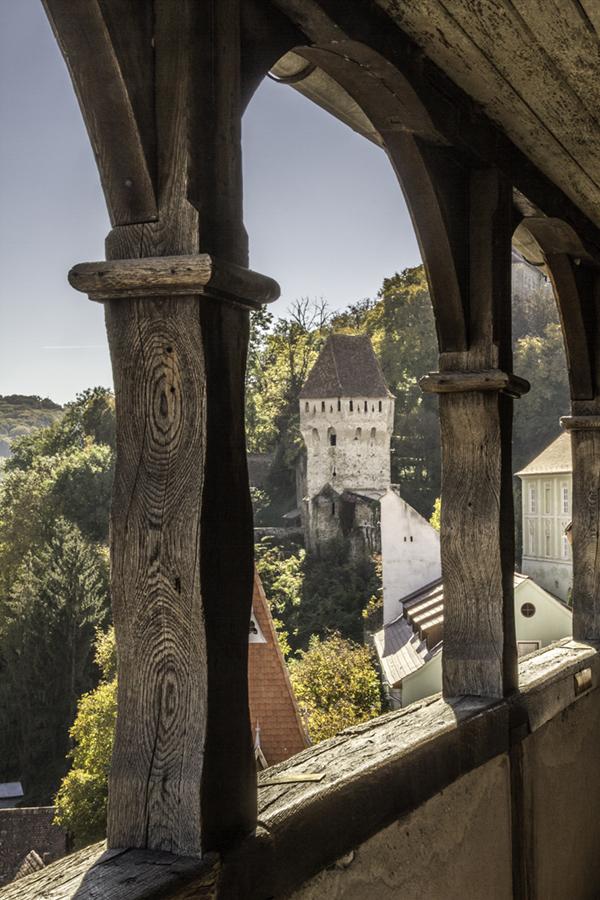 Sighisoara depuis la tour de l'horloge