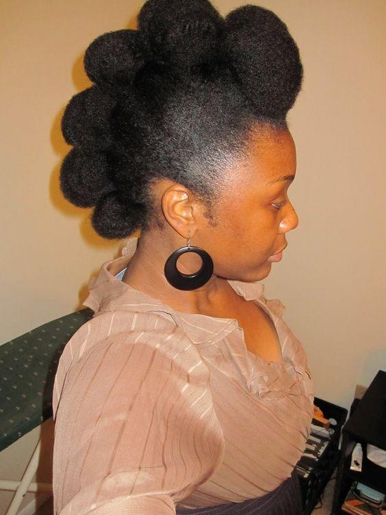 natural hair mohawks