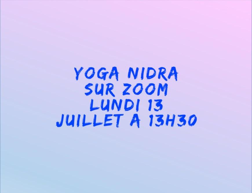 Yoga nidra 13 juillet