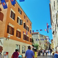 Starting a solo road trip in Croatia by Zadar