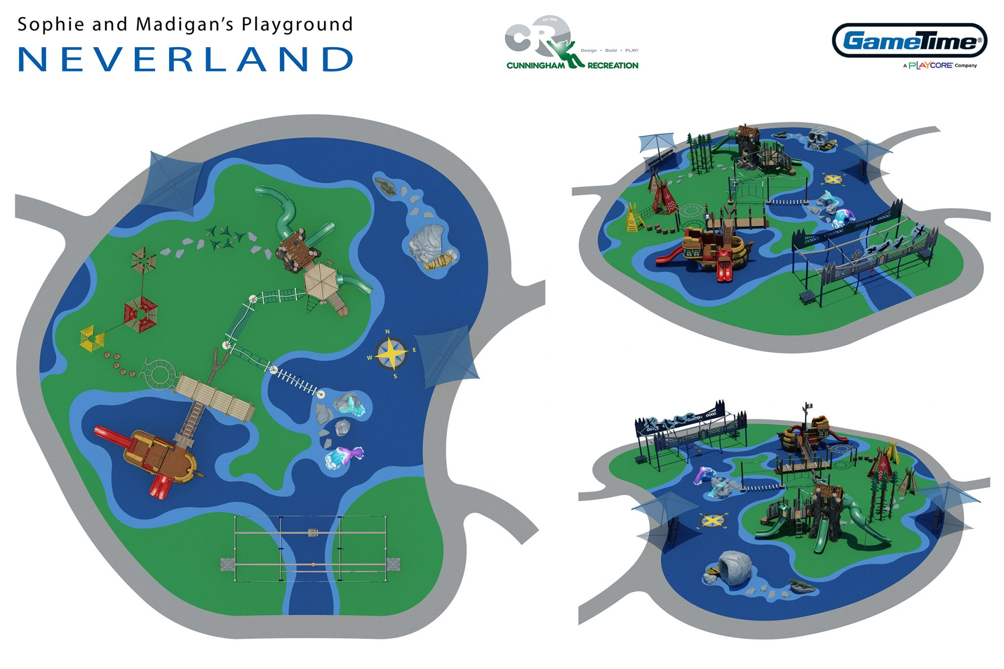 Neverland Concept Board