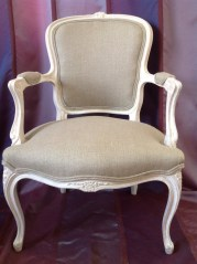French Louis XV fauteuil
