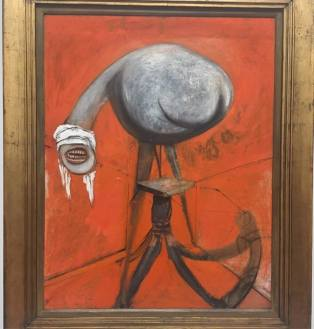 """Francis Bacon """"Three Studies for Figures at the Base of a Crucifixion""""(2/3)"""