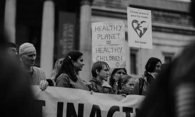 Climate Emergency 2019 Protest March Bristol City Centre