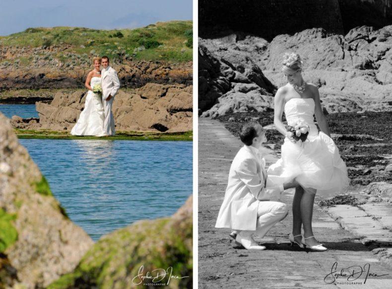 Ils se sont mariés le jour de l'été à Saint-Malo - Photographie Mariage - Sophie d'Inca - Plage - Mer - Bord de Mer - Morbihan sud - Côtes d'Armor - Finistère - Ille et Vilaine - vendée