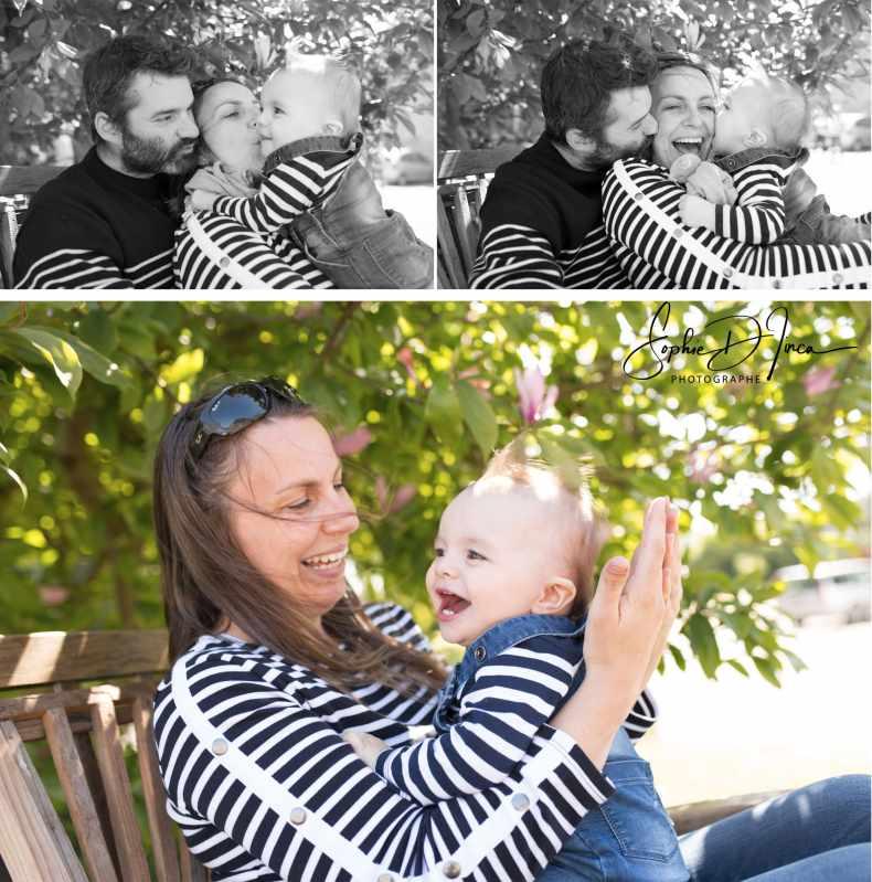 Reportage photos famille vannes Sophie D'inca Photographe
