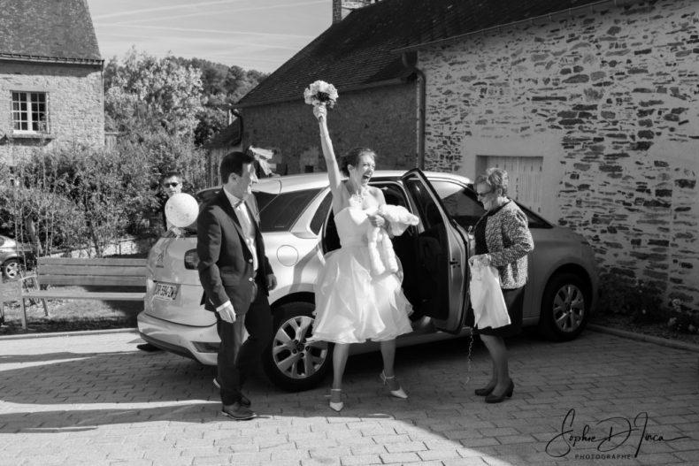 Vive les mariés Morbihan Sophie D'inca Photographe Malestroit Saint-Congard - Pleucadeuc - Saint-Marcel - Saint-Guyomard - Tréal - Ruffiac - Saint-Abraham -