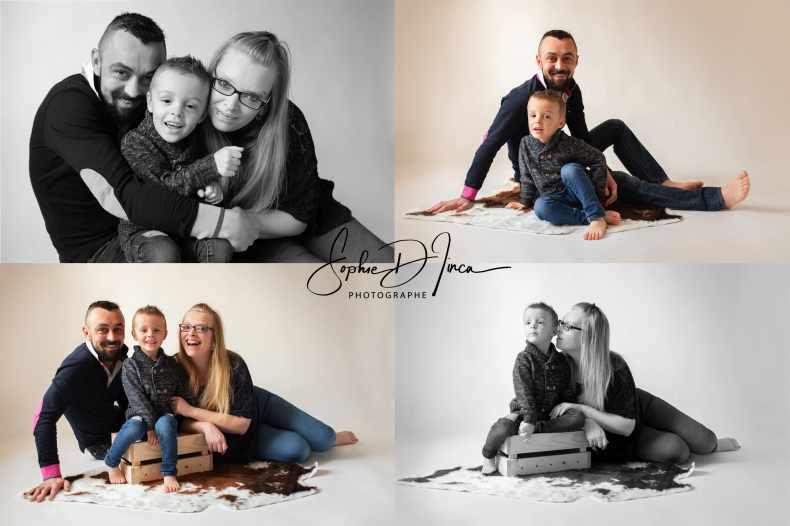 séance photo famille studio Malestroit 56