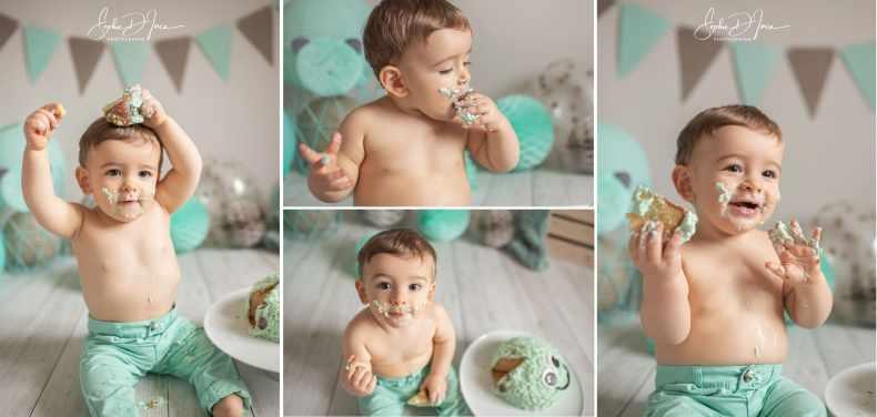 séance anniversaire-smash the cake-Sophie D'inca Photographe Malestroit-Morbihan