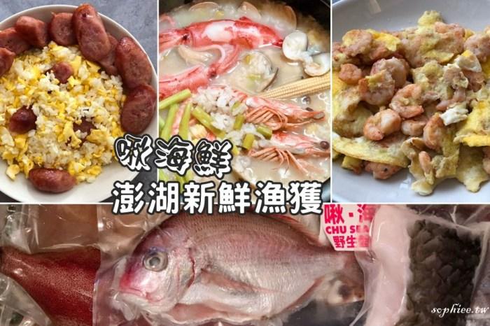 買海鮮推薦》啾海鮮-澎湖新鮮漁獲 海鮮宅配 副食品食材 新鮮健康沒有藥水味!
