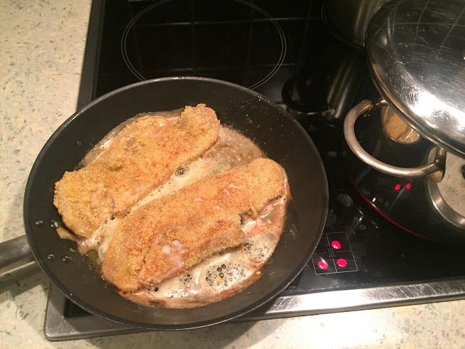 Vlees en vis paneren