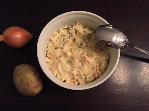 Aardappelsalade glutenvrij