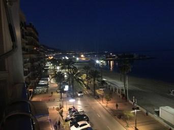 Fuengirola bij nacht