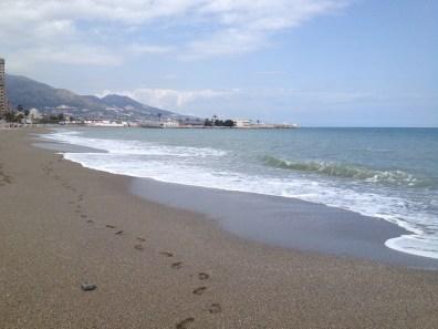 Ochtendwandeling strand