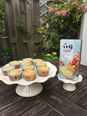 Glutenvrije cupcakes, snel en eenvoudig te maken