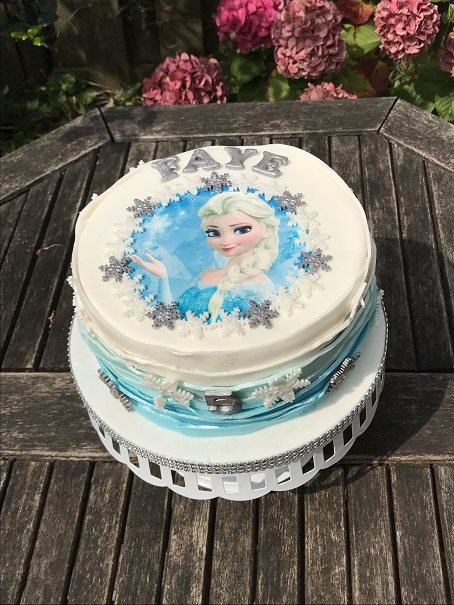 Glutenvrije Frozen taart (2)