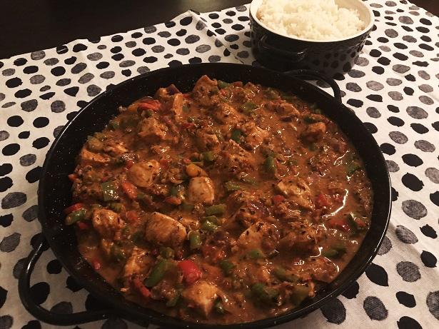 Kip korma, een heerlijke pittige Indiase curry