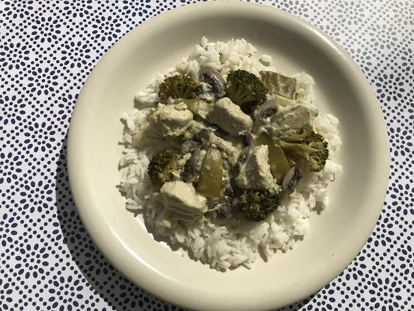 Thaise groene curry, de glutenvrije makkelijke versie