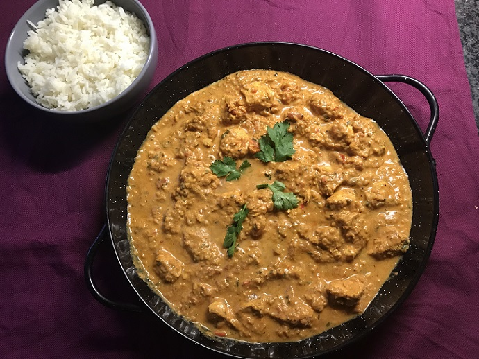 Indiase tikka masala, gewoon gluten- en lactosevrij