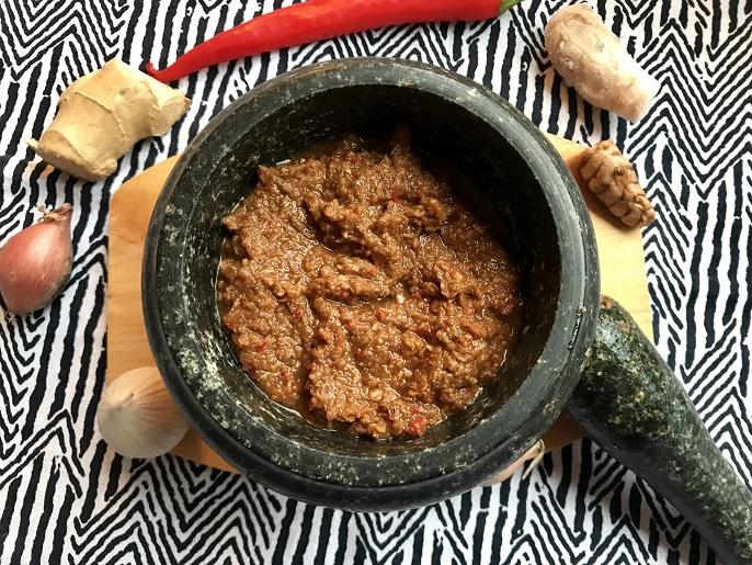 Boemboe nasi goreng, gluten- en lactosevrij
