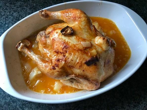 Makkelijke kip uit de oven