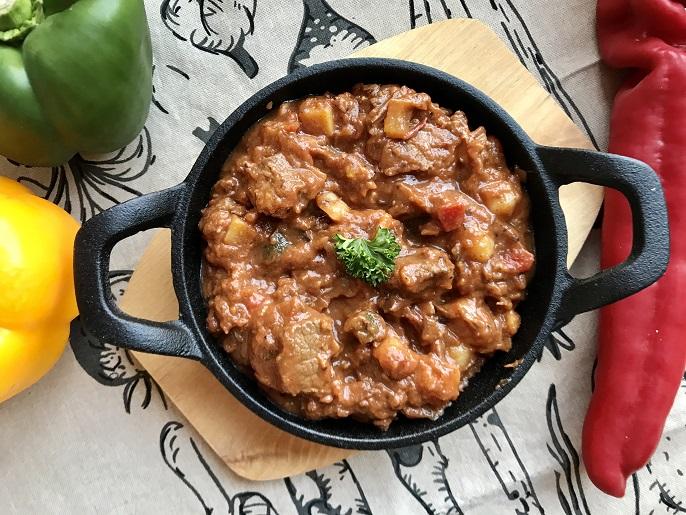 Hongaarse goulash met rundvlees