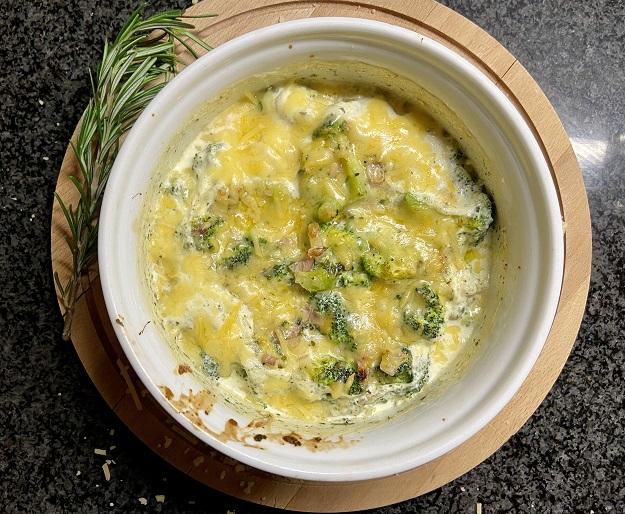 Broccoli gratin, een heerlijk en snel bijgerecht