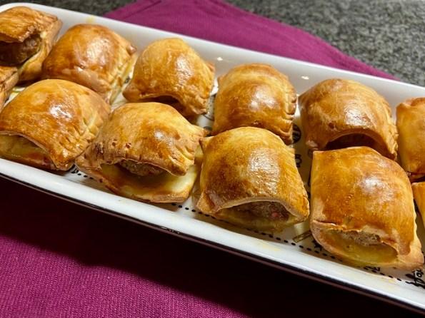 Glutenvrije mini saucijzenbroodjes